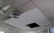 Regeneración de falsos techos